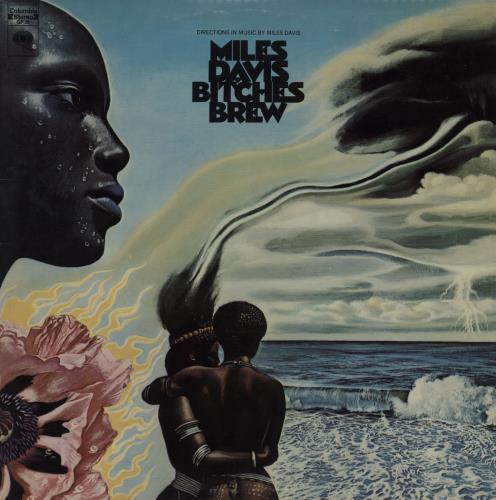 Miles Davis Bitches Brew 2-LP vinyl record set (Double Album) Canadian MDA2LBI757011