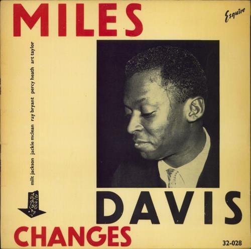 Miles Davis Changes vinyl LP album (LP record) UK MDALPCH473550