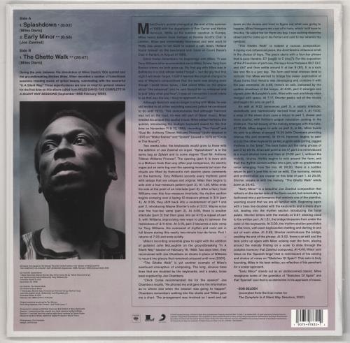 "Miles Davis Early Minor: Rare Miles - RSD BF19 - Sealed 12"" vinyl single (12 inch record / Maxi-single) UK MDA12EA734518"