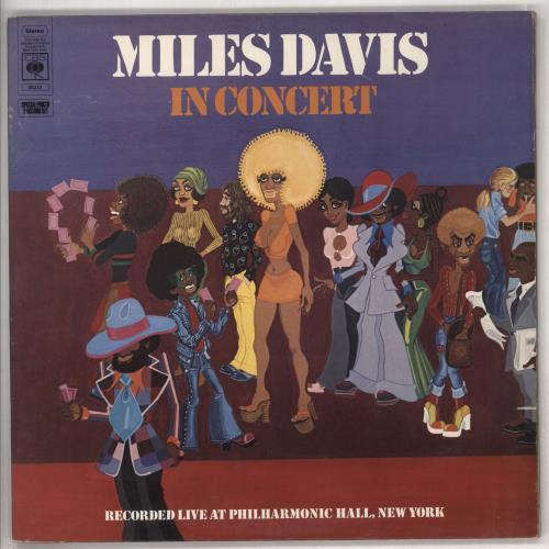Miles Davis In Concert - 1st - VG 2-LP vinyl record set (Double Album) UK MDA2LIN738476