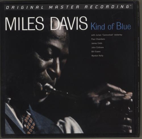 Miles Davis Kind Of Blue - 180gm 45RPM - Sealed Vinyl Box Set US MDAVXKI730195