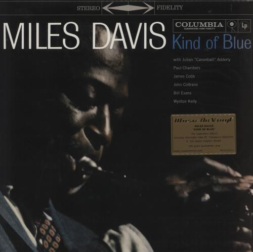 Miles Davis Kind Of Blue - 180gm Vinyl - Sealed 2-LP vinyl record set (Double Album) UK MDA2LKI753912