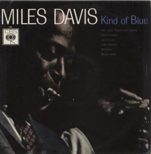 Miles Davis Kind Of Blue - 1st - Mono - EX vinyl LP album (LP record) UK MDALPKI719338