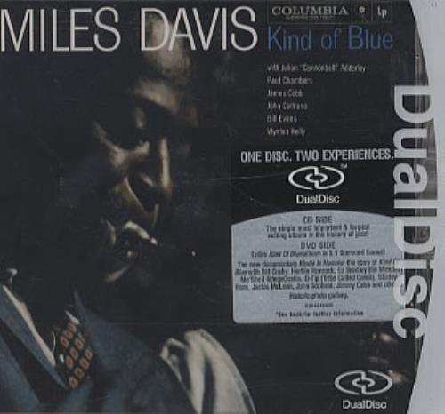 Miles Davis Kind Of Blue Dual Disc UK MDADUKI338117