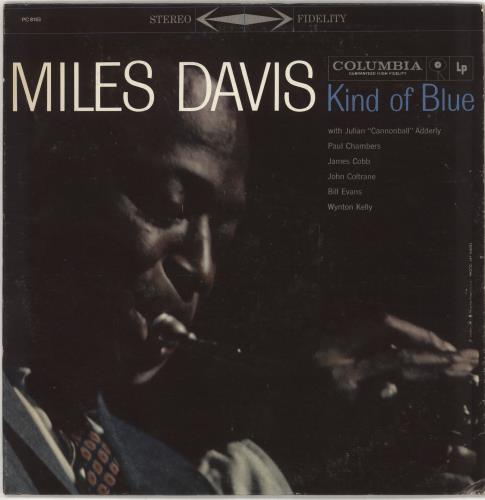 Miles Davis Kind Of Blue vinyl LP album (LP record) US MDALPKI499703