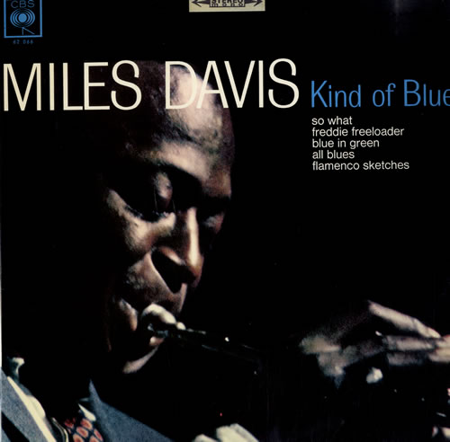 Miles Davis Kind Of Blue vinyl LP album (LP record) French MDALPKI560943