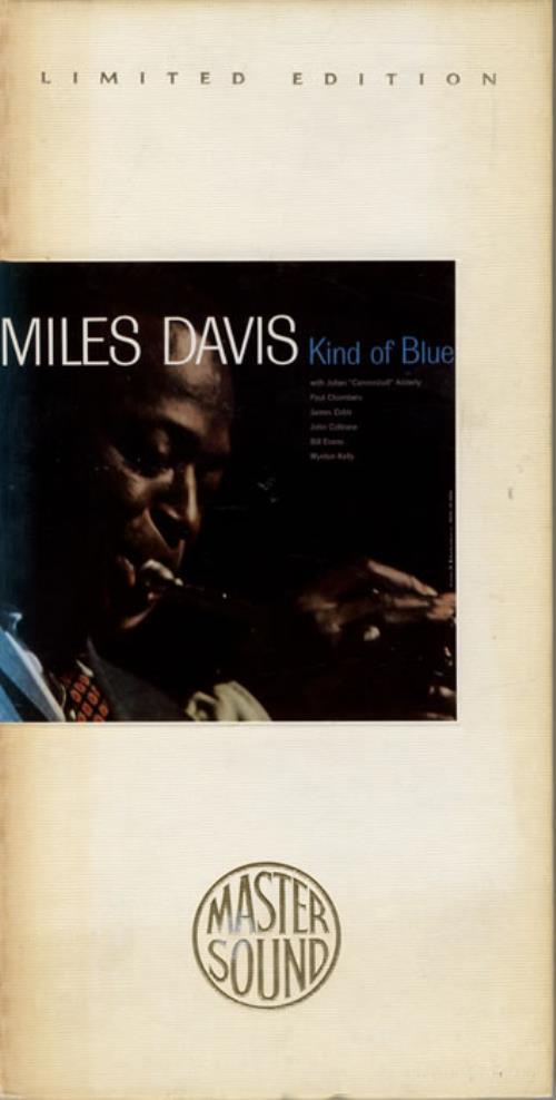 Miles Davis Kind Of Blue CD album (CDLP) US MDACDKI09773