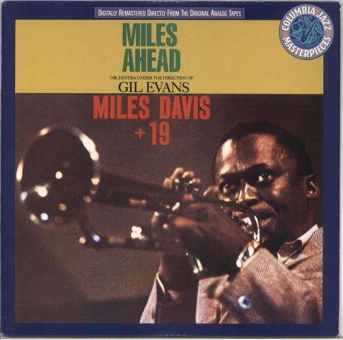 Miles Davis Miles Ahead vinyl LP album (LP record) US MDALPMI370353