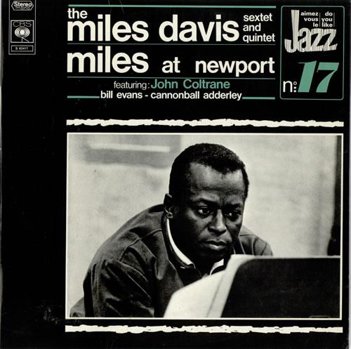 Miles Davis Miles At Newport vinyl LP album (LP record) French MDALPMI469959