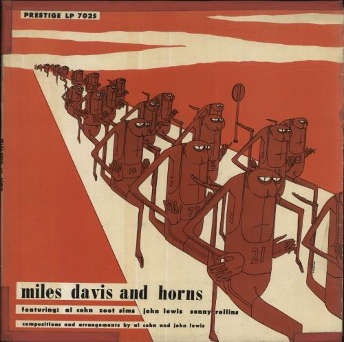 Miles Davis Miles Davis And Horns - 2nd vinyl LP album (LP record) US MDALPMI696541