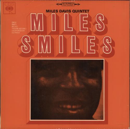 Miles Davis Miles Smiles vinyl LP album (LP record) Australian MDALPMI728312