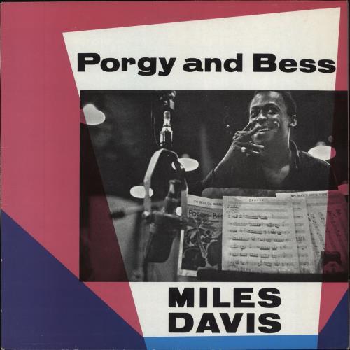 Miles Davis Porgy And Bess - Late 70s vinyl LP album (LP record) UK MDALPPO615775