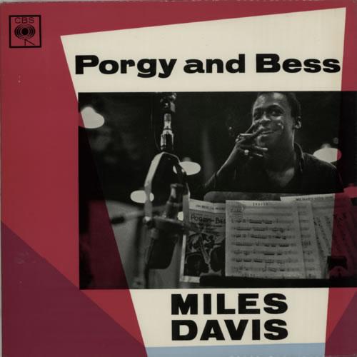 Miles Davis Porgy And Bess vinyl LP album (LP record) UK MDALPPO614443