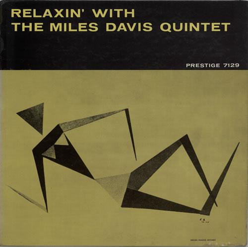 Miles Davis Relaxin' - W. 50th N.Y.C. vinyl LP album (LP record) US MDALPRE629226
