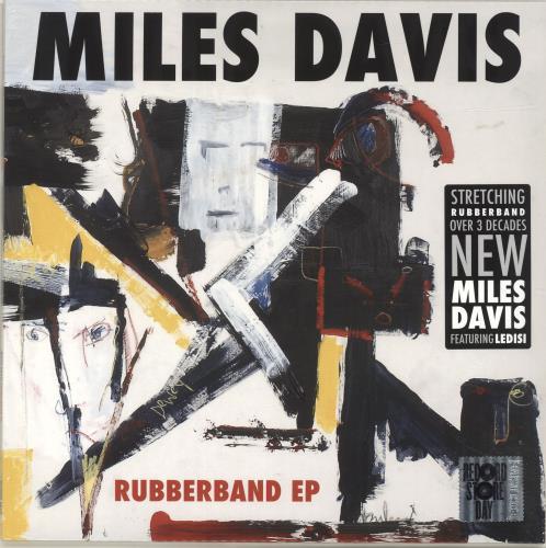 "Miles Davis Rubberband EP - RSD18 - Sealed 12"" vinyl single (12 inch record / Maxi-single) UK MDA12RU694888"