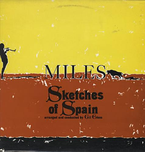 Miles Davis Sketches Of Spain - Graduated Orange vinyl LP album (LP record) UK MDALPSK315638