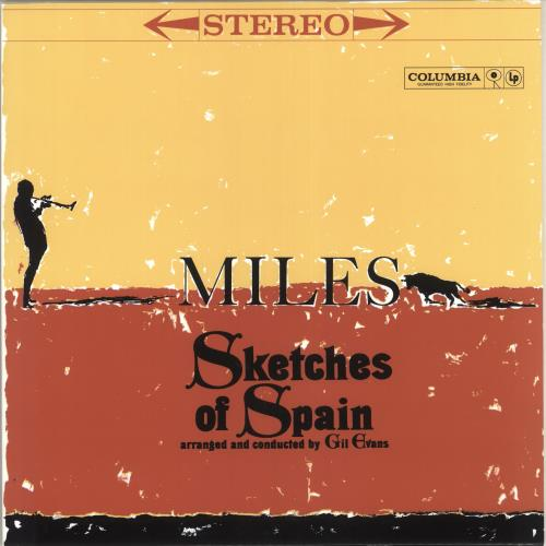 Miles Davis Sketches Of Spain vinyl LP album (LP record) UK MDALPSK742212