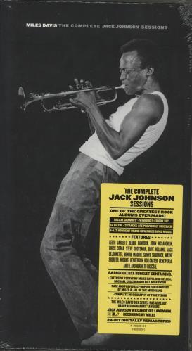 Miles Davis The Complete Jack Johnson Sessions Uk 5 Cd