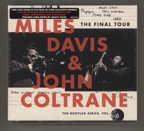 Miles Davis The Final Tour: The Bootleg Series, Vol. 6 - Sealed 4-CD album set German MDA4CTH734849