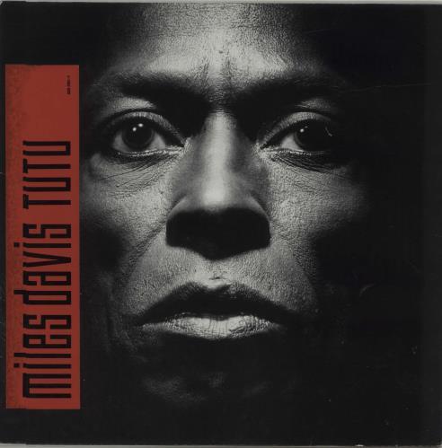Miles Davis Tutu + inner vinyl LP album (LP record) German MDALPTU314144