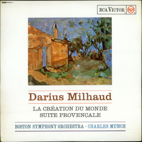 Milhaud La Creation du Monde & Suite Provencale vinyl LP album (LP record) UK M23LPLA530686