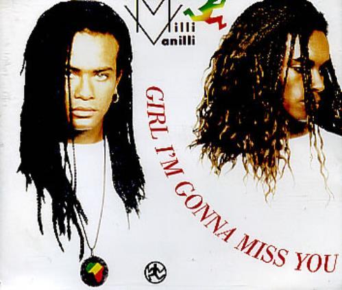 "Milli Vanilli Girl I'm Gonna Miss You CD single (CD5 / 5"") German MLIC5GI100303"