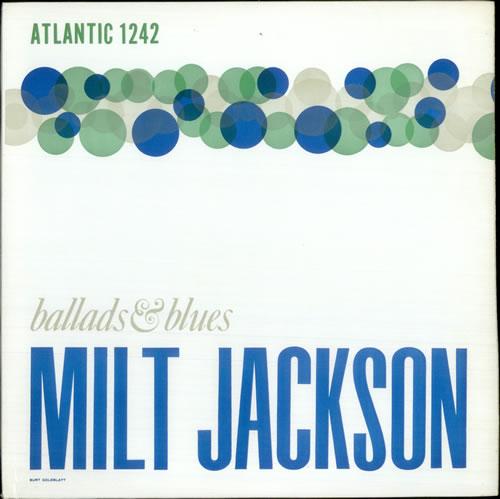 Milt Jackson Ballads & Blues - DG Mono vinyl LP album (LP record) US MJ1LPBA520321