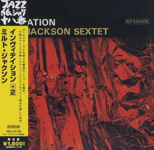 Milt jackson invitation japanese cd album cdlp 372741 milt jackson invitation cd album cdlp japanese mj1cdin372741 stopboris Choice Image
