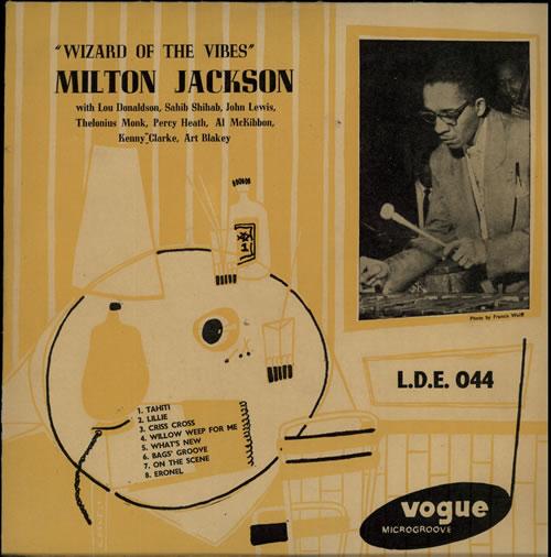 "Milt Jackson Wizard Of The Vibes 10"" vinyl single (10"" record) UK MJ110WI633851"