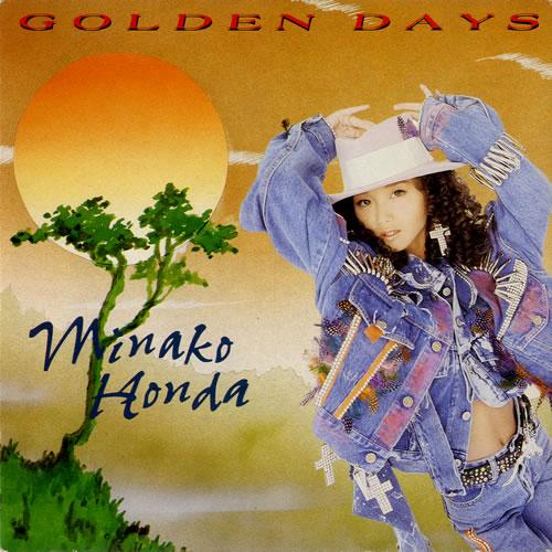 """Minako Honda Golden Days 7"""" vinyl single (7 inch record) UK KOH07GO577188"""