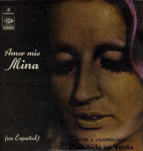 Mina Amor Mio [En Spanol] vinyl LP album (LP record) Colombian MA9LPAM363565