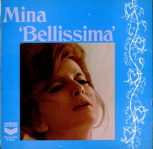 Mina Bellissima vinyl LP album (LP record) UK MA9LPBE514151
