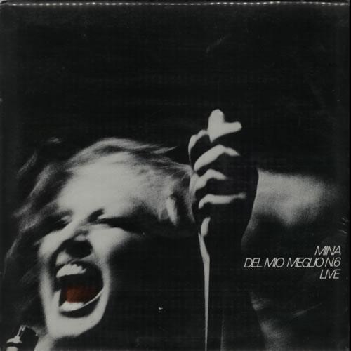 Mina Del Mio Meglio N. 6 Live vinyl LP album (LP record) Italian MA9LPDE624839