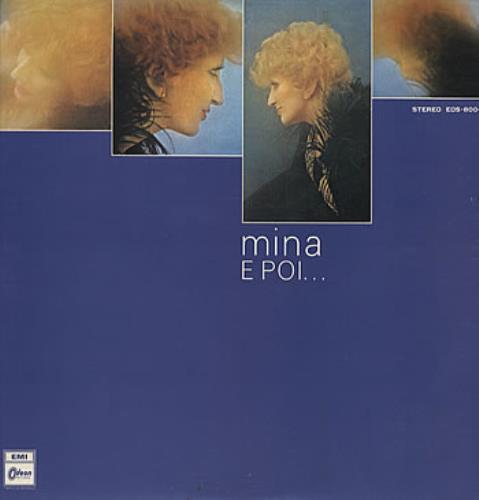 Mina E Poi ... vinyl LP album (LP record) Japanese MA9LPEP318704