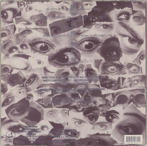 Minister Of Noise Voodoo Soul vinyl LP album (LP record) Belgian QKOLPVO697519