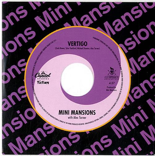"""Mini Mansions Vertigo CD single (CD5 / 5"""") UK N6PC5VE633493"""