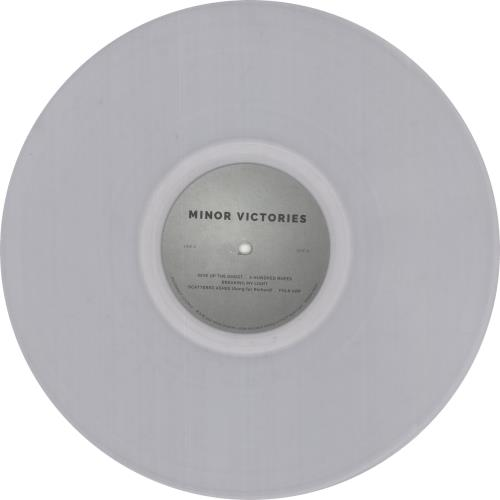 Minor Victories Minor Victories - 180gm Clear Vinyl + Bonus CD vinyl LP album (LP record) UK O1ZLPMI730996