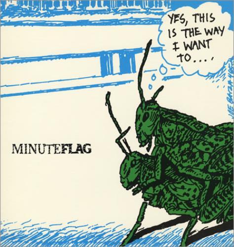 "Minuteflag Minuteflag EP 12"" vinyl single (12 inch record / Maxi-single) US MJX12MI392644"