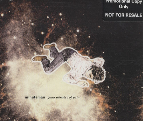 "Minuteman 5000 Minutes Of Pain CD single (CD5 / 5"") UK M/MC5MI248904"
