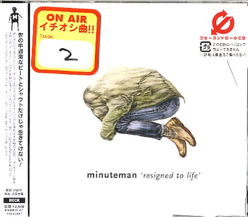 Minuteman Resigned To Life - Sealed CD album (CDLP) Japanese M/MCDRE618247