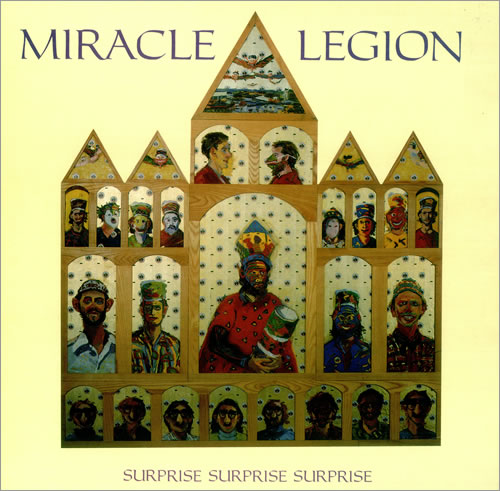 Miracle Legion Surprise Surprise Surprise vinyl LP album (LP record) UK MCJLPSU450717