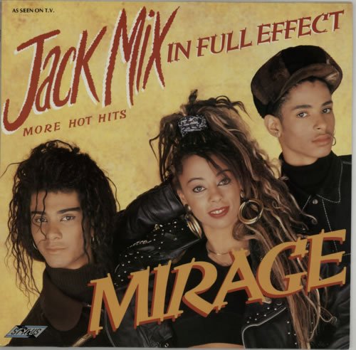 Mirage Jack Mix In Full Effect vinyl LP album (LP record) UK MIELPJA593520