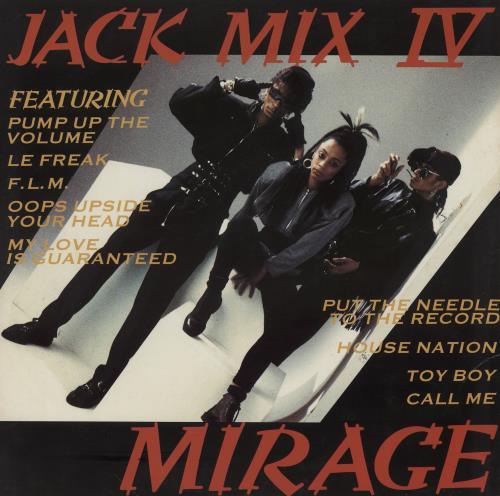 "Mirage Jack Mix IV 12"" vinyl single (12 inch record / Maxi-single) UK MIE12JA762076"