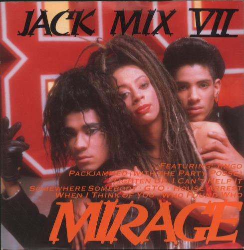 "Mirage Jack Mix VII 7"" vinyl single (7 inch record) Japanese MIE07JA664285"