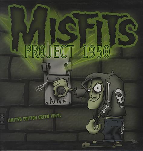 Misfits Project 1950 vinyl LP album (LP record) UK MFTLPPR264864