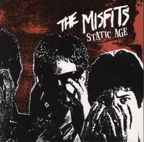 Misfits Static Age vinyl LP album (LP record) US MFTLPST405131