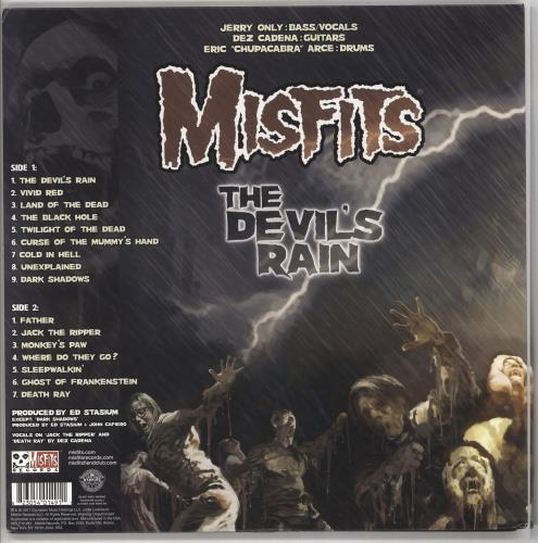 Misfits The Devil's Rain - Multicoloured Vinyl vinyl LP album (LP record) US MFTLPTH722467