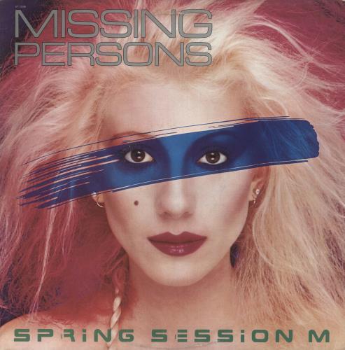 Missing Persons Spring Session M vinyl LP album (LP record) US MSPLPSP659527