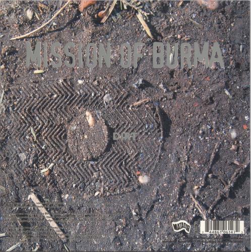 "Mission Of Burma Dirt / Falling 7"" vinyl single (7 inch record) UK ME807DI717416"