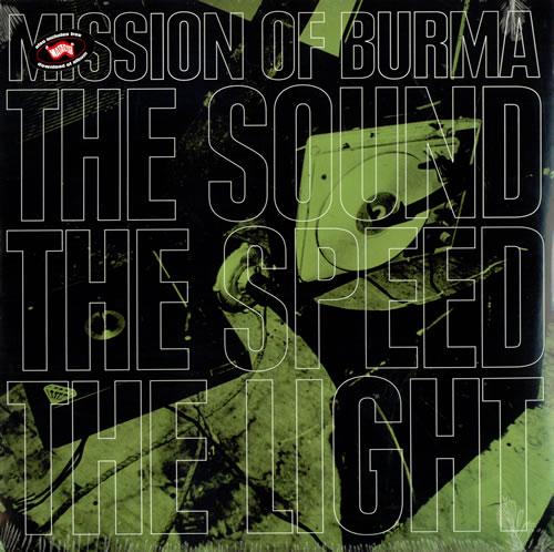 Mission Of Burma The Sound The Speed The Light vinyl LP album (LP record) US ME8LPTH491136